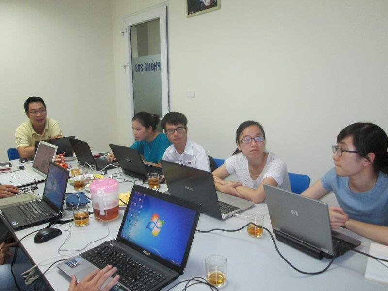 Hình ảnh học viên khóa học lập trình VBA tai Stanford