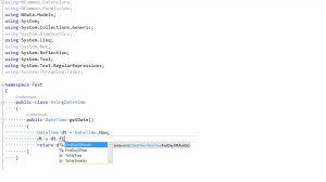 Sử dụng extension trong C#