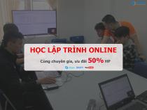 Học lập trình online hiệu quả từ cơ bản đến chuyên sâu